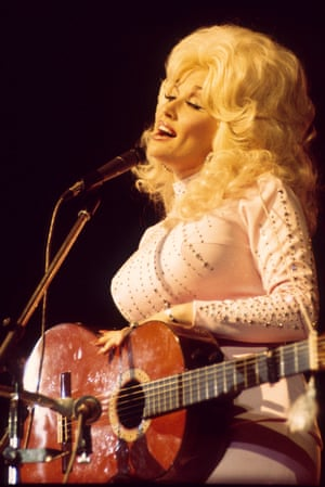 Dolly Parton, the inspiration for Dolly the sheep's name