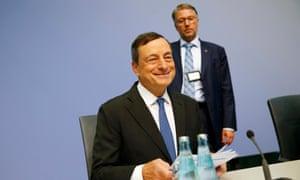 European Central Bank president Draghi.