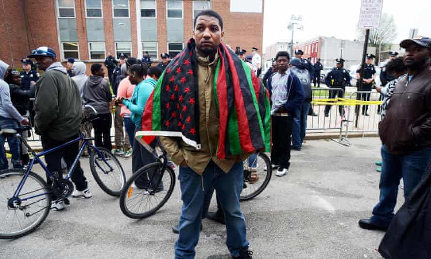 Abdul Salaam, Baltimore protests, Freddie Gray