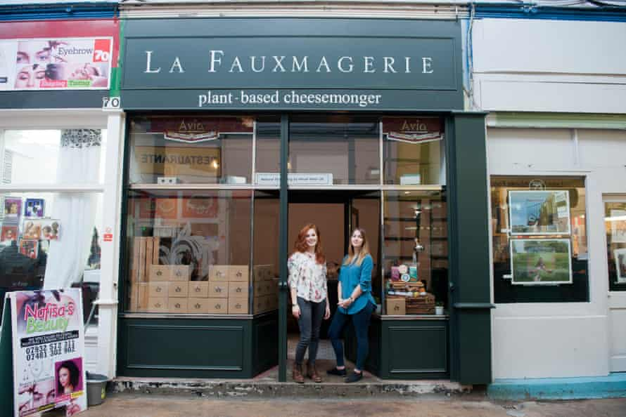 Not a cheese shop … La Fauxmagerie, Brixton.