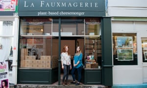 La Fauxmagerie, Brixton, London … the UK's first plant-based cheese shop.