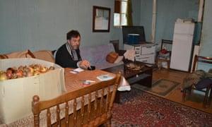Zeljko Vucelic in the family home