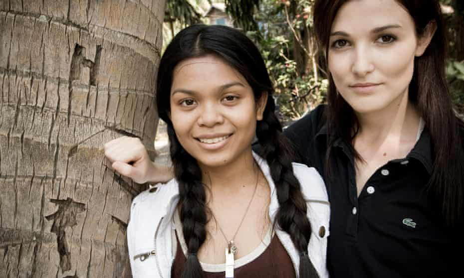 Sinet Chan and Tara Winkler from the Cambodian Children's Trust