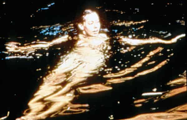 'I was inhibited' … Jenny Agutter in the swimming scene.