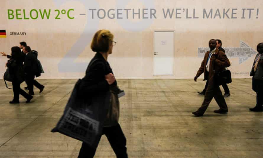 The site of the Paris climate talks