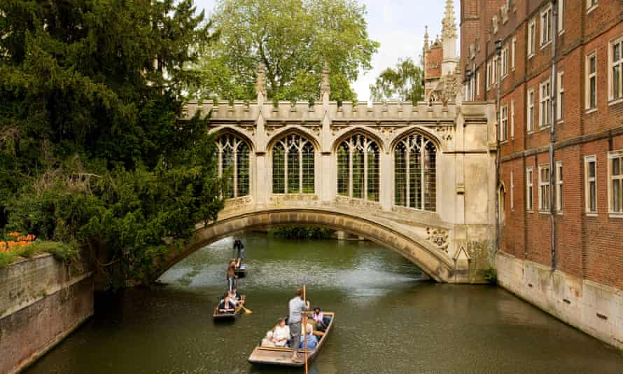 'The best small city in the world' … Cambridge's Bridge of Sighs.