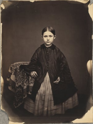 Portrait of a Girl in Dark Jacket, Standing, about 1857