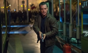 Bourne to do it? Matt Damon, AKA Jason Bourne.