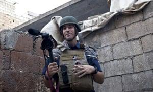 James Foley in Aleppo, Syria