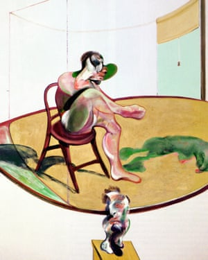 Two Studies of George Dyer with Dog