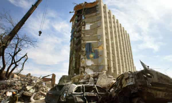 The Taba Hilton hotel, which was car bombed in 2004.