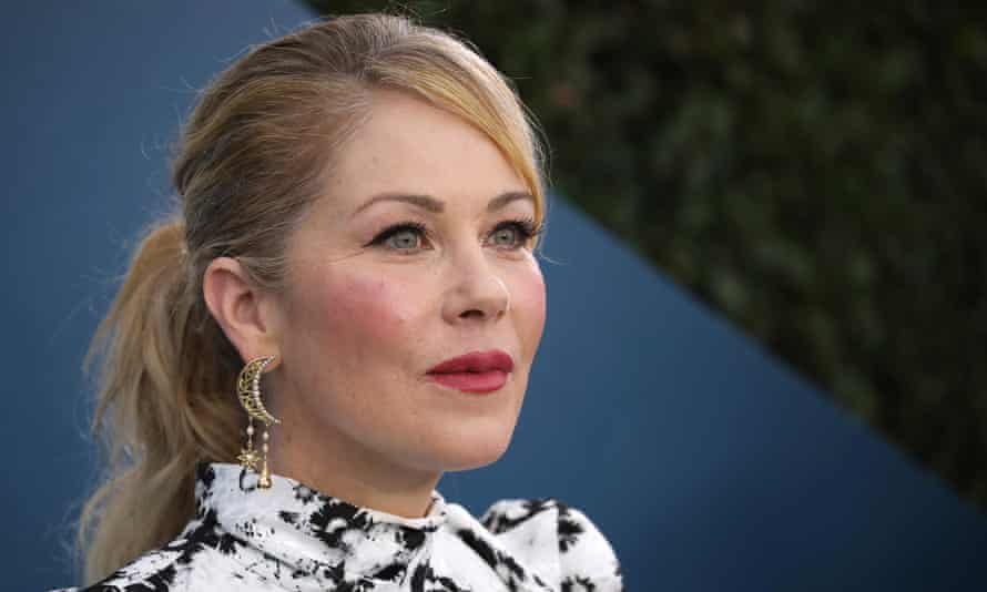 Christina Applegate at the 26th annual Screen Actors Guild Awards in Los Angeles, California on 19 January 2020.