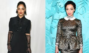 Passing stars Tessa Thompson and Ruth Negga are often cast in roles as women of colour.