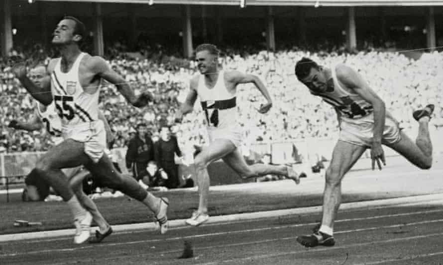 Bobby Morrow at the 1956 Games