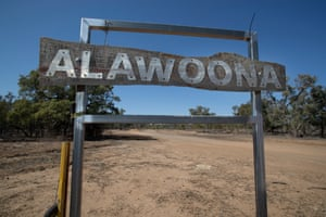 Alawoona, near Wyandra, Queensland.