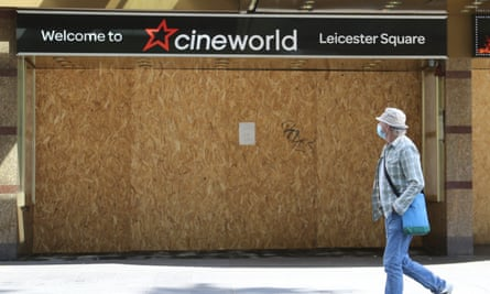 Welcome to the future ... a closed Cineworld.