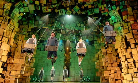 The Royal Shakespeare Company's Matilda the Musical in April 2019: André Ptaszynski had been a co-producer since the show's West End transfer in 2011.