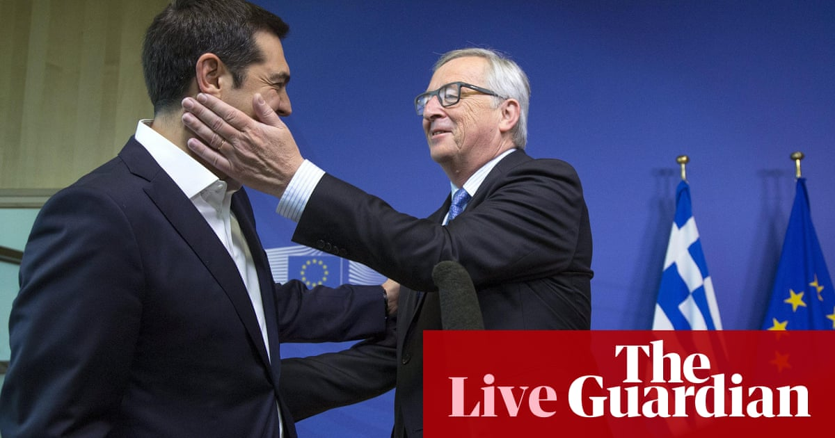 Greek crisis: eurozone leaders hold emergency summit - as ...