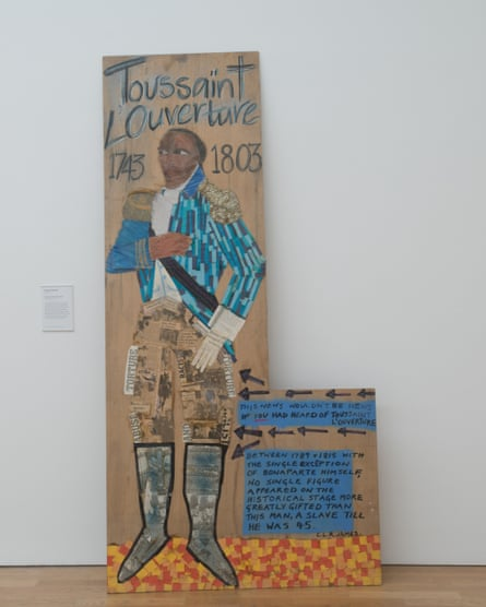 Lubaina Himid's Toussaint L'Ouverture, recently acquired by Middlesbrough Institute of Modern Art.
