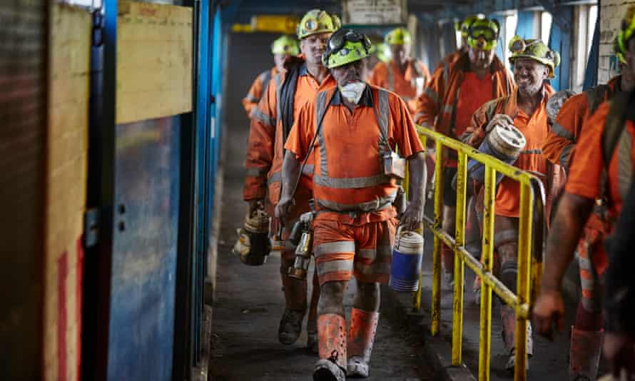 miners at Kellingley Colliery.