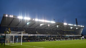 The New Den, Millwall's home.