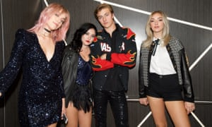 Lucky Blue Smith and his sisters, AKA the Atomics