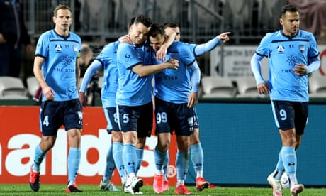 Sydney FC survive Adelaide United scare to advance to A-League grand final