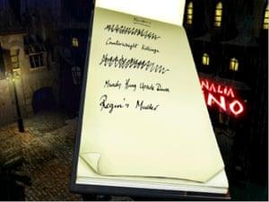 Discworld Noir's notebook
