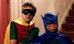 'I couldn't understand why my dad was laughing so hard' … Del Boy and Rodney as Batman and Robin.