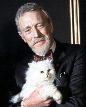 Max von Sydow as Ernst Stavro Blofeld in Never Say Never Again, 1983