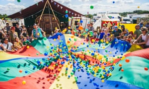 There's wild swimming, boating, horse riding, hot tubs and a wealth of kids' entertainment at Wilderness festival.