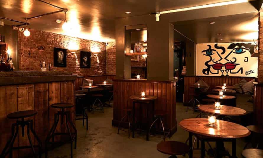 The Vault bar, Greek Street, Soho