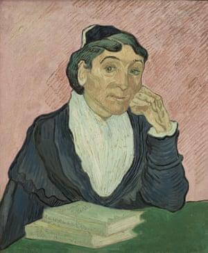 L'Arlésienne, 1890, by Van Gogh.