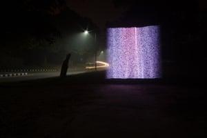 India Institute of Technology Campus, Delhi, India - PM2.5 500-600 micrograms per cubic metre