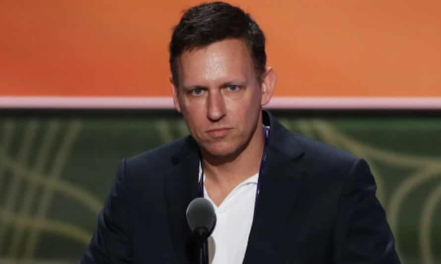Peter Thiel: 'It seemed only a matter of time before they would try to pretend that journalism justified the very worst.'