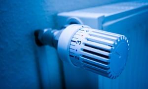 A close-up of a radiator