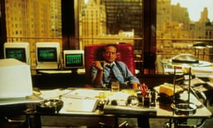 Greed is good: the WeWork founders loved Wall Street, starring Michael Douglas as Gordon Gekko. Now their HQ is in the office block where the film was shot.