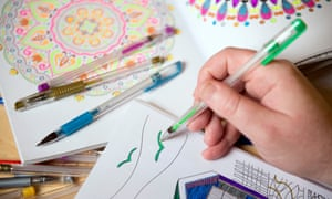 Colouring books for adults benefit mental health, scientists suggest.