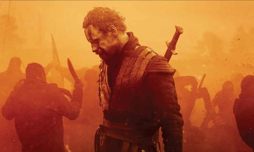 'That's just my luck' ... Michael Fassbender as Macbeth in Justin Kurzel's film. Photograph: Allstar/DMC Film