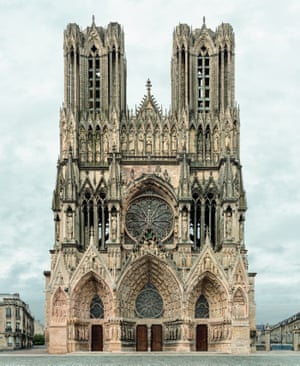 Reims, Cathédrale Notre-Dame, 2013-2014 from the FACADES series