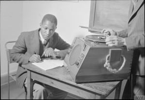 1940s African student