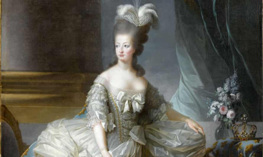 An 18th-century portrait of Marie-Antoinette