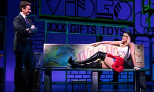 Andy Karl and Samantha Barks in Pretty Woman: The Musical.
