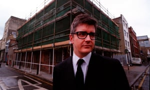 Jay Jopling in 1999 outside the building that would become the White Cube gallery
