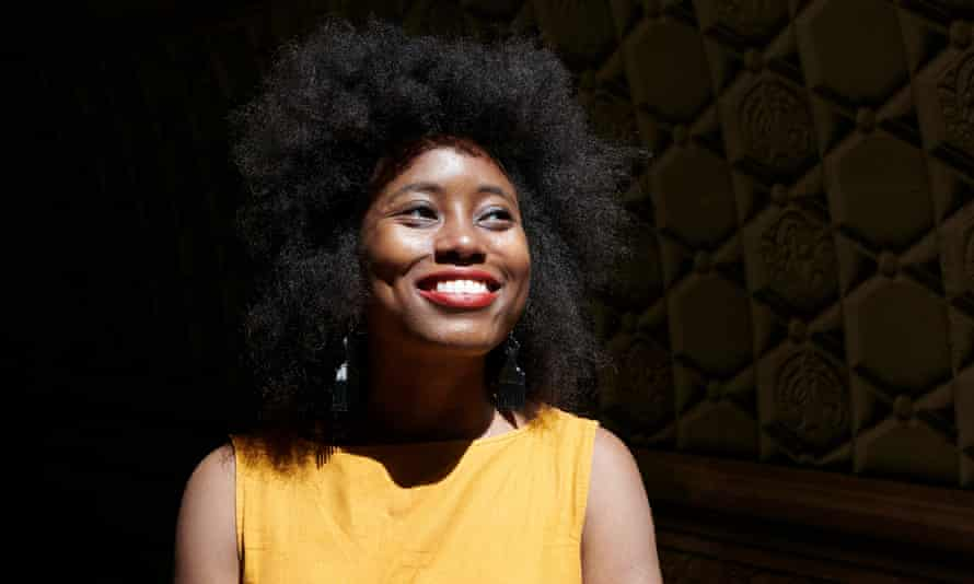 Zakiya Dalila Harris uses the importance of hair products in the lives of black women to startling effect.