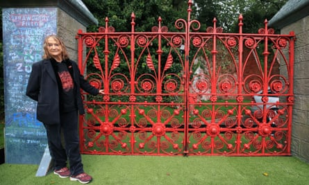 John Lennon's sister Julia Baird is honorary president of the Strawberry Field project.