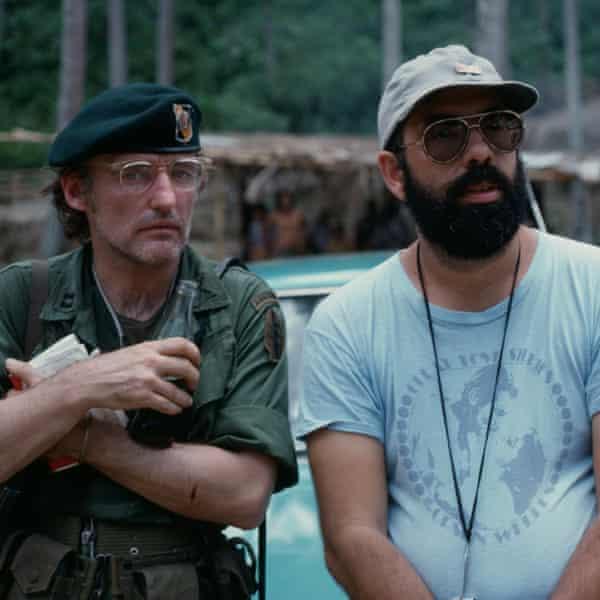 Coppola with Dennis Hopper