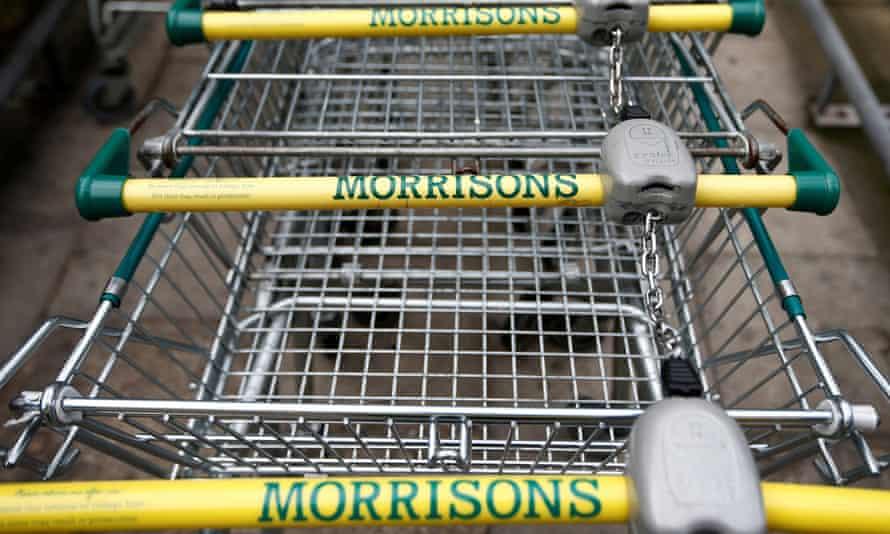 Morrisons shopping trolleys