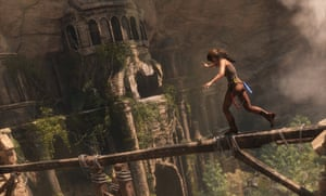 Microsoft was also showing a new DirectX 12 compatible version of Rise of the Tomb Raider at its spring showcase
