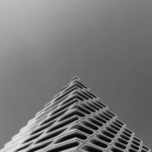 Images from the Instagram photography project Geometry Club set up by photographer and graphic designer Dave Mullen Jr where people submit images of buildings forming carefully composed triangle shapes.